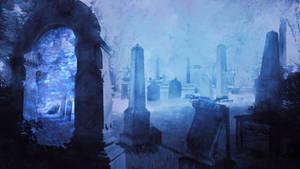 Graveyard by Silinde-Ar-Feiniel