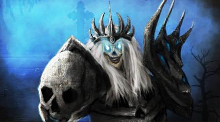 Skeleton King by Silinde-Ar-Feiniel