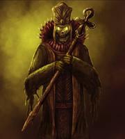 Undead Priest by Silinde-Ar-Feiniel