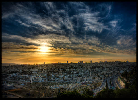 Jerusalem Sunset III