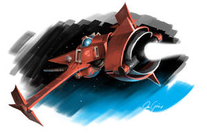 Old - Swordfish II by Luftwaffles