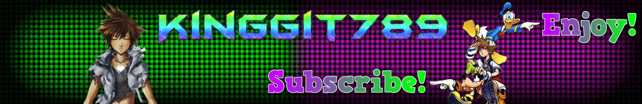 Kinggit789's YouTube Channel Art Edit by Kinggit789