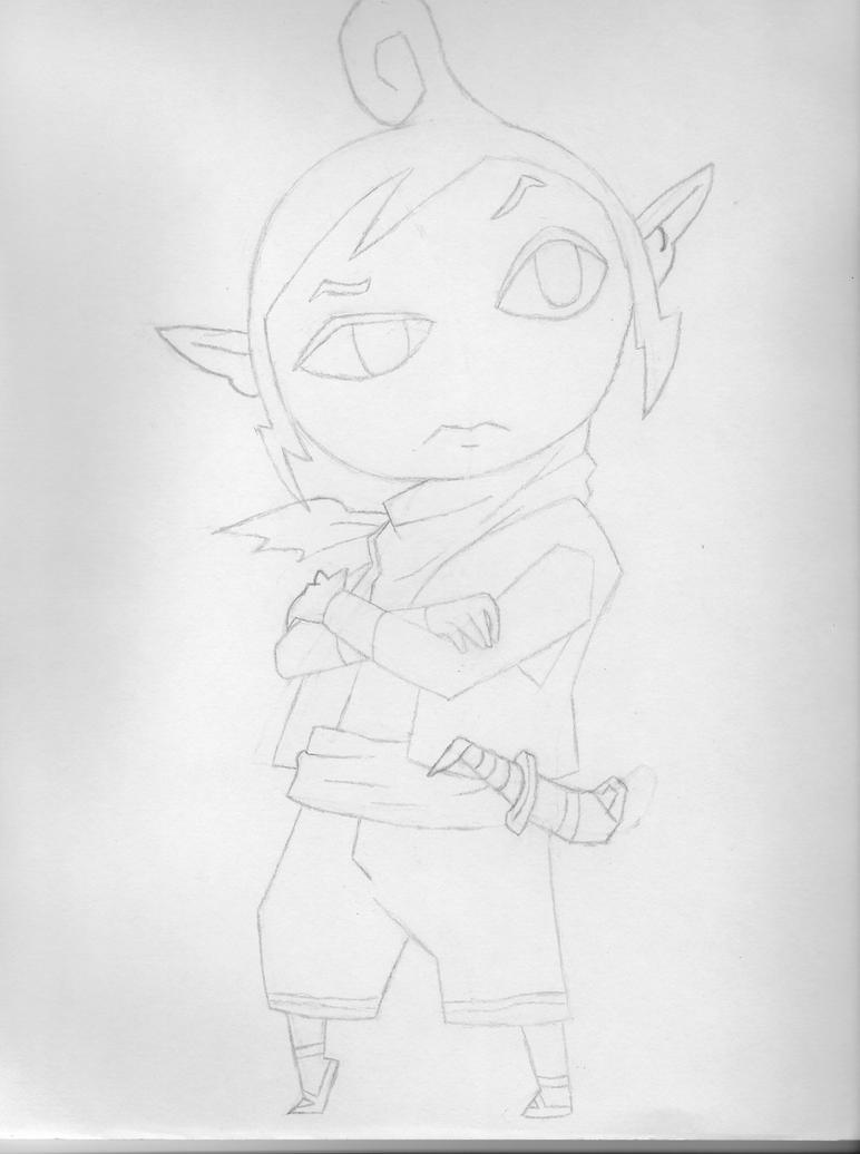 Tetra (sketch) by THExWHITExFANGx