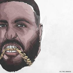 DJ Khaled by oltklinakuart