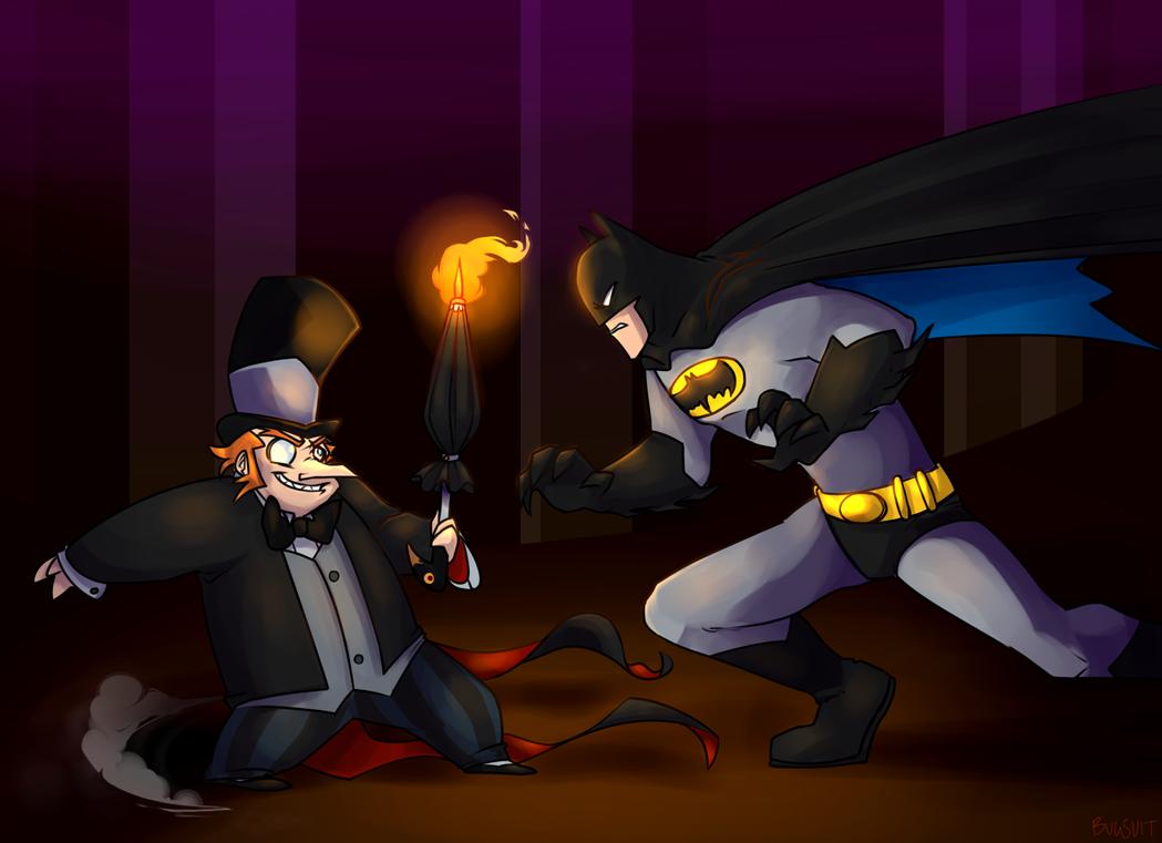 bat vs bird by Authenti