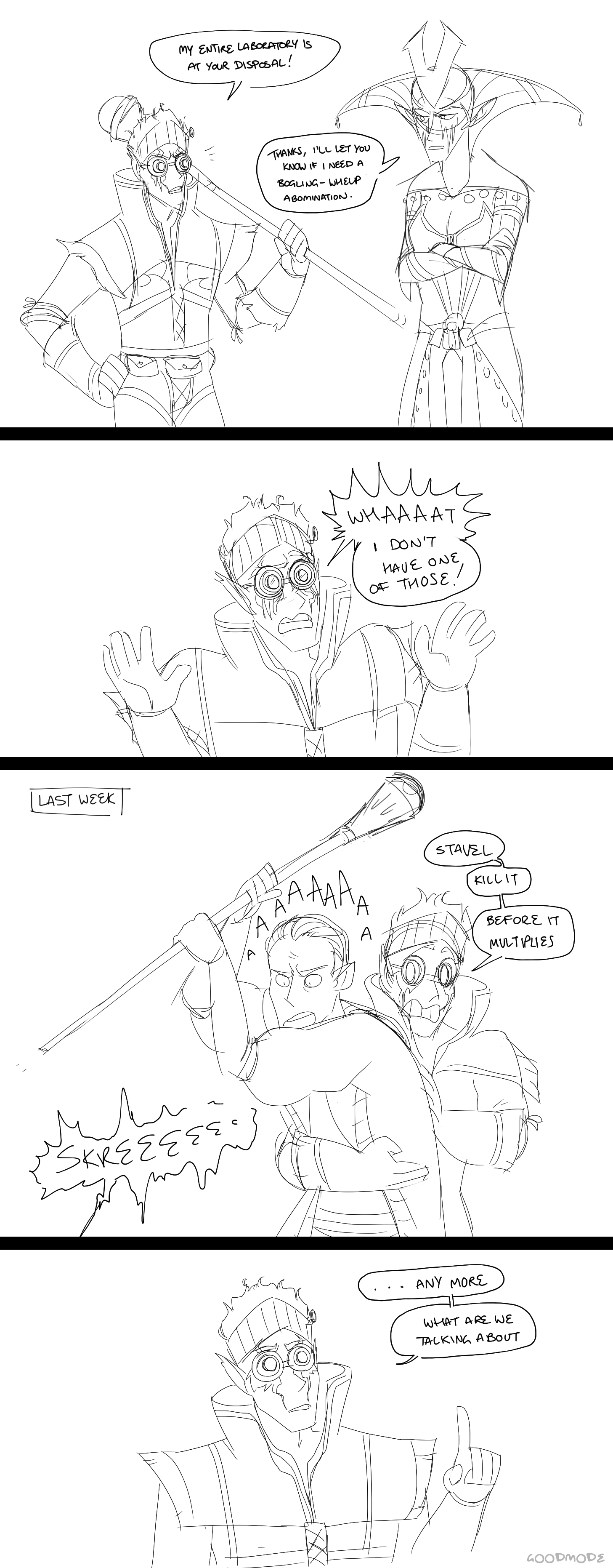 bug s art dump a parody of this clip from archer because i like to combine my interests and ruin both at the same time nice b^