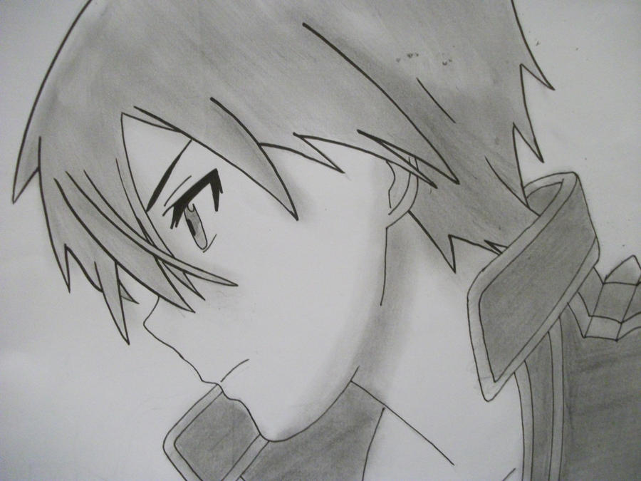Kirito By Lyrablaze On Deviantart