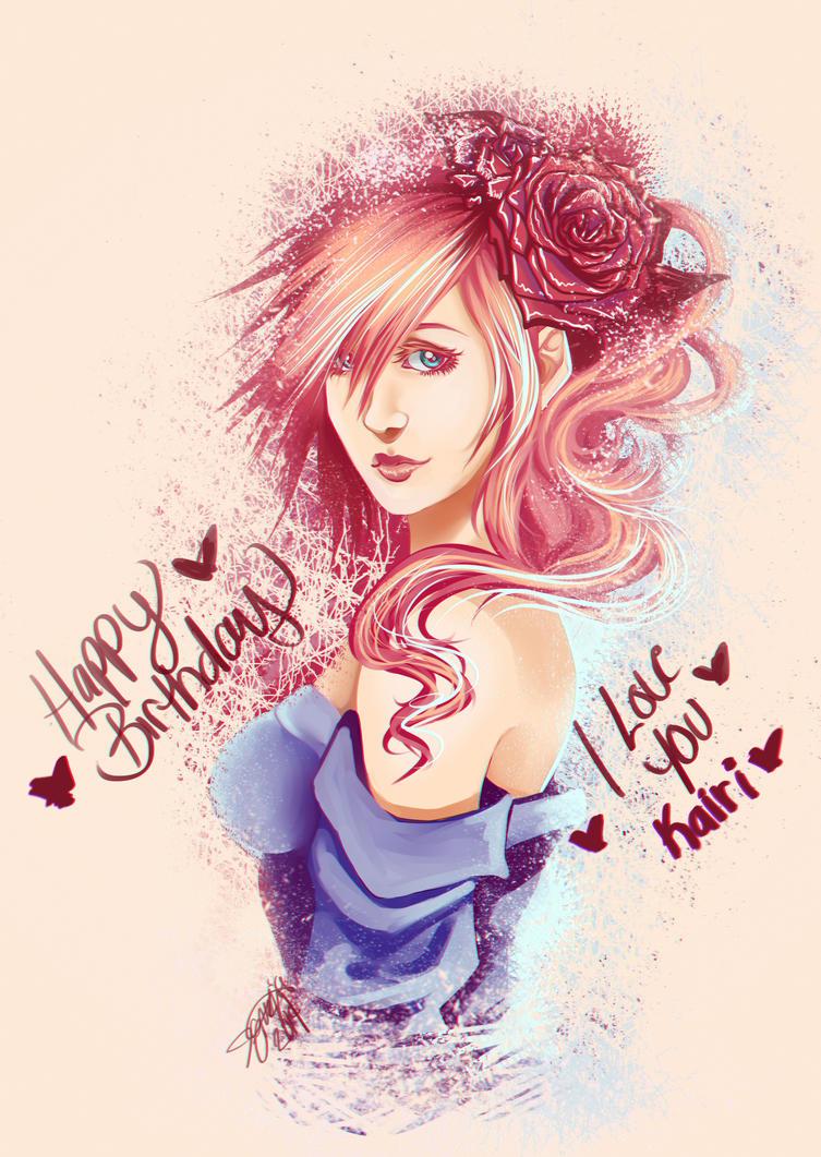 Happy Birthday Princess. by nicegal1