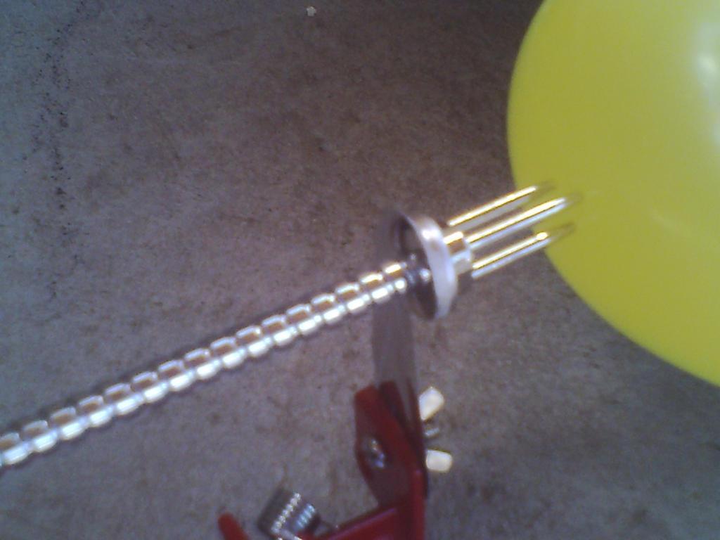 Apple Peeler/Corer Vs Balloon by Keeper-Of-Lulu