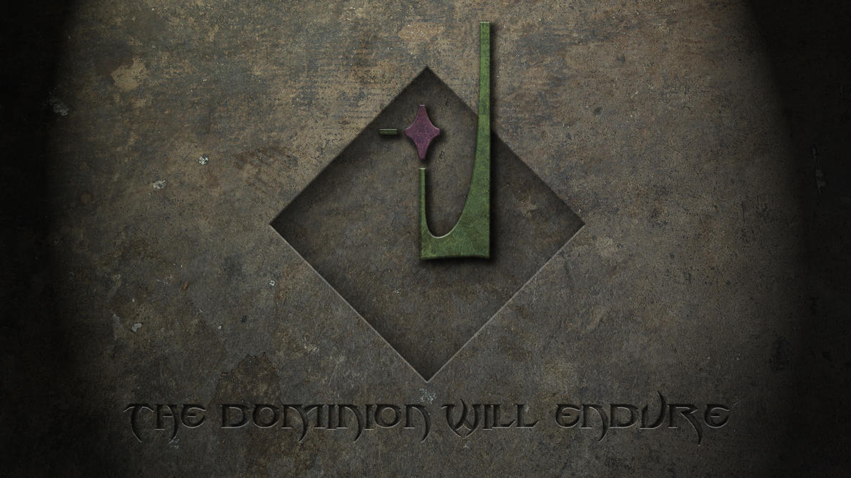 Dominion Will Endure Engraved by imaximus