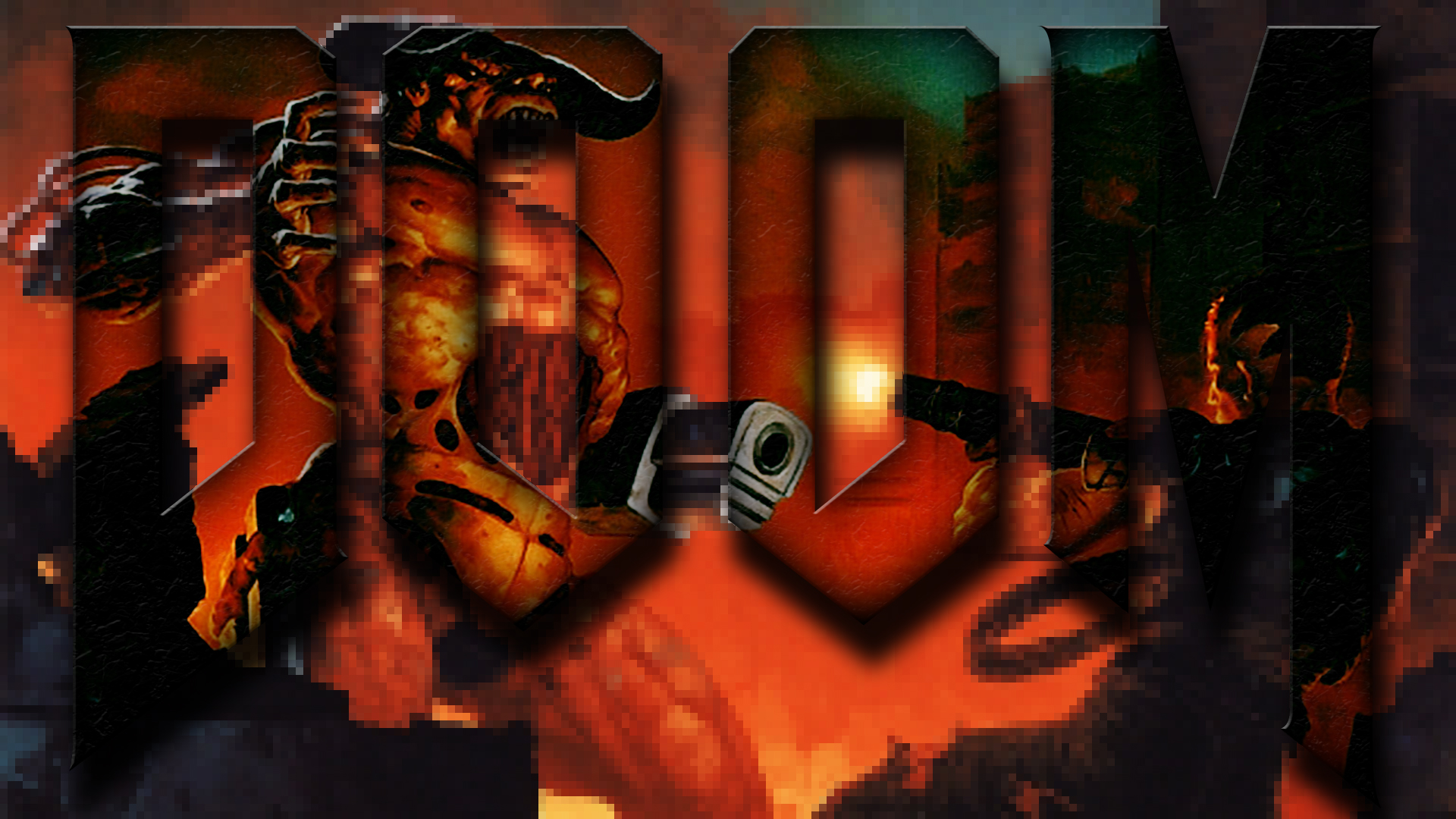doom-II 1920 x 1080 wall by imaximus