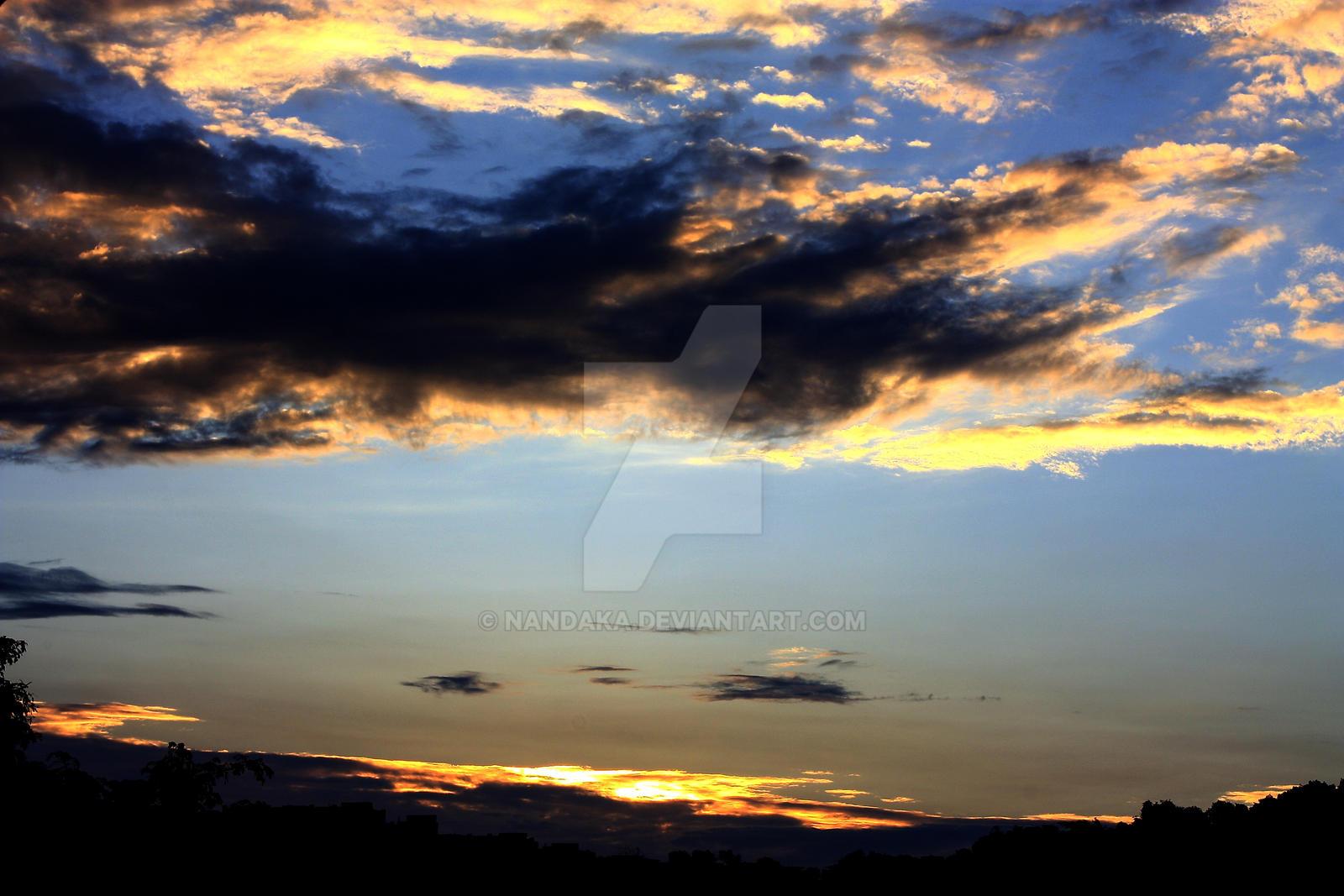 Clouds 4 by Nandaka