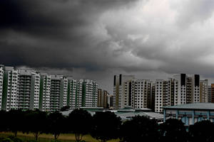 Dark Cloud over HDB by Nandaka