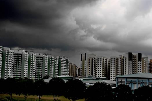 Dark Cloud over HDB