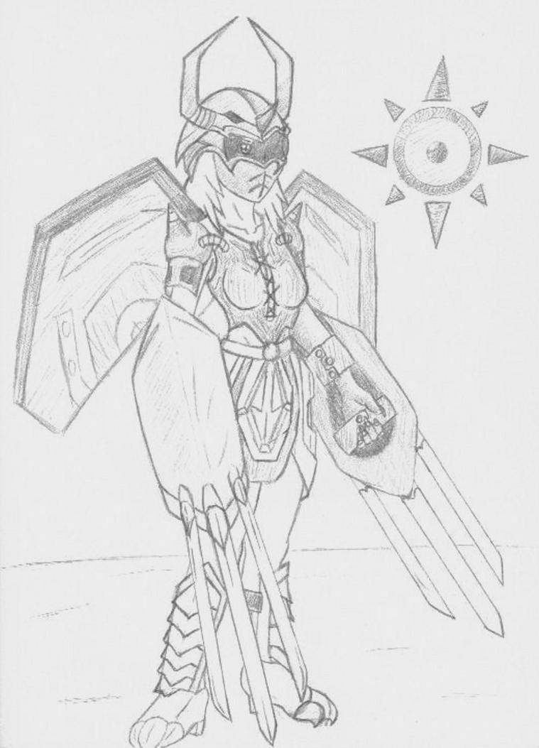 WARGREYMON FEMALE ARMOR by AnimeChunks