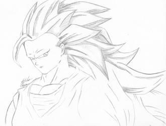 SSJ3 Goku by AnimeChunks