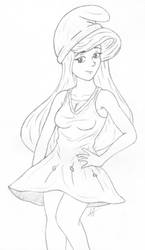 Smurfette by AnimeChunks