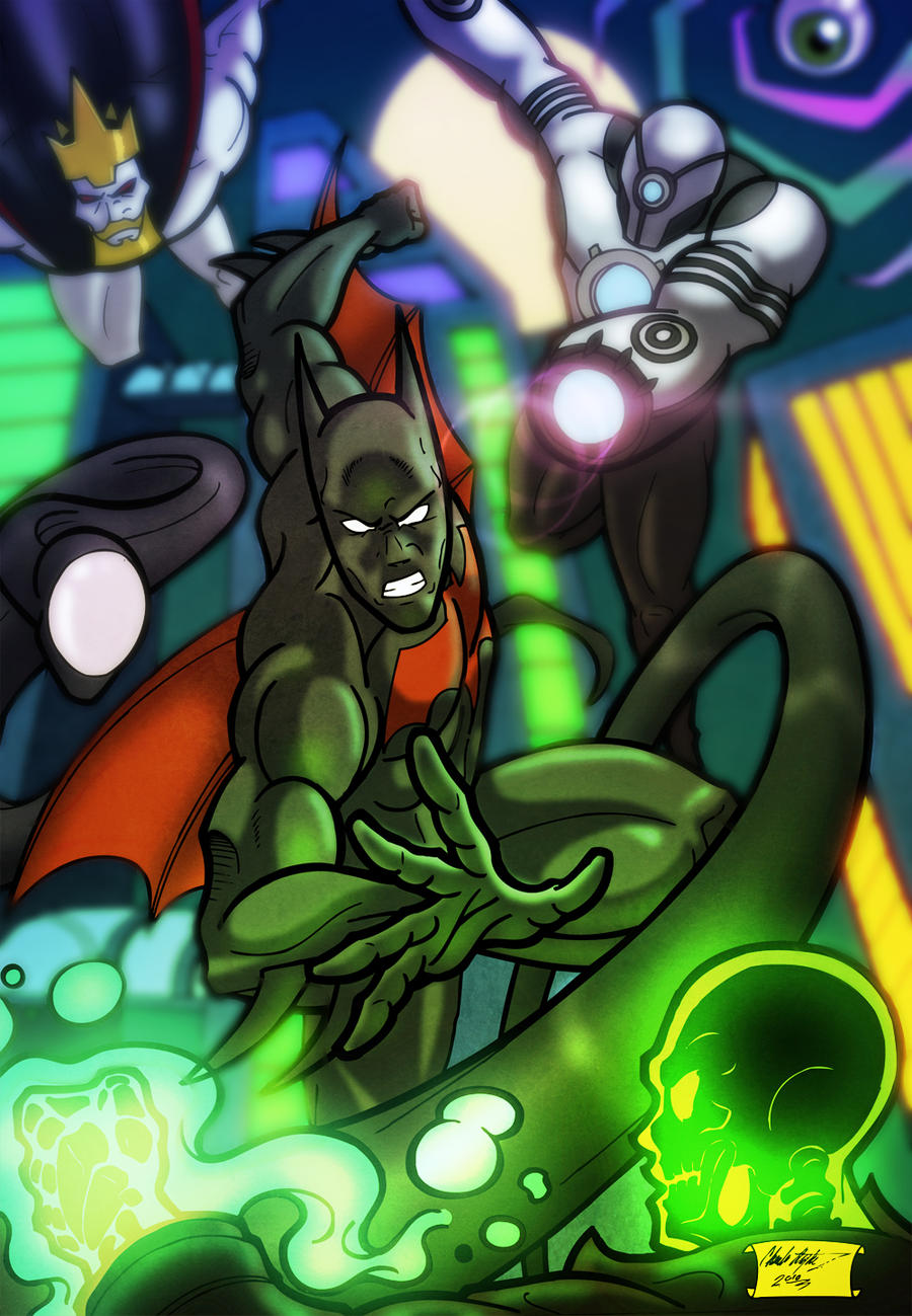 Batman Beyond by anubis2kx