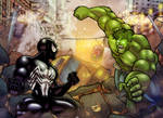 Spidey v. Hulk page 8 and 9