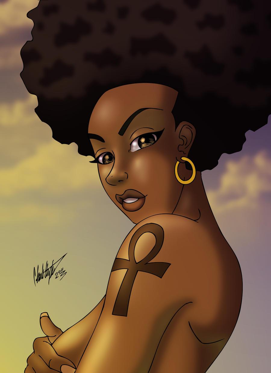 Black Woman Art Afrocentricityby anubis2kxBlack Women Afro Art