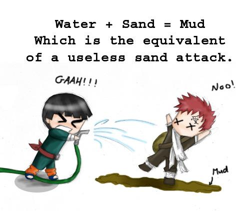 Funny Rock Lee X Gaara – Quotes of the Day