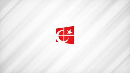 4K Turkish Flag Aluminum Wallpaper