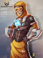 Overwatch - Tracer (Skin Concept) by Penekli