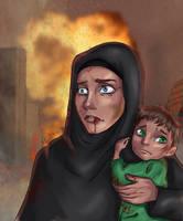 Fear in a Mother's Eyes by Penekli