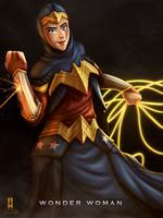 Wonder Woman by Penekli