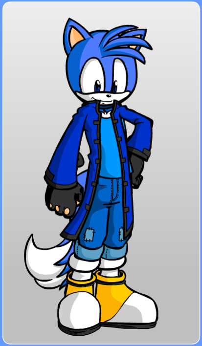 My new personal Sonic OC Look by doomjoshuaboy