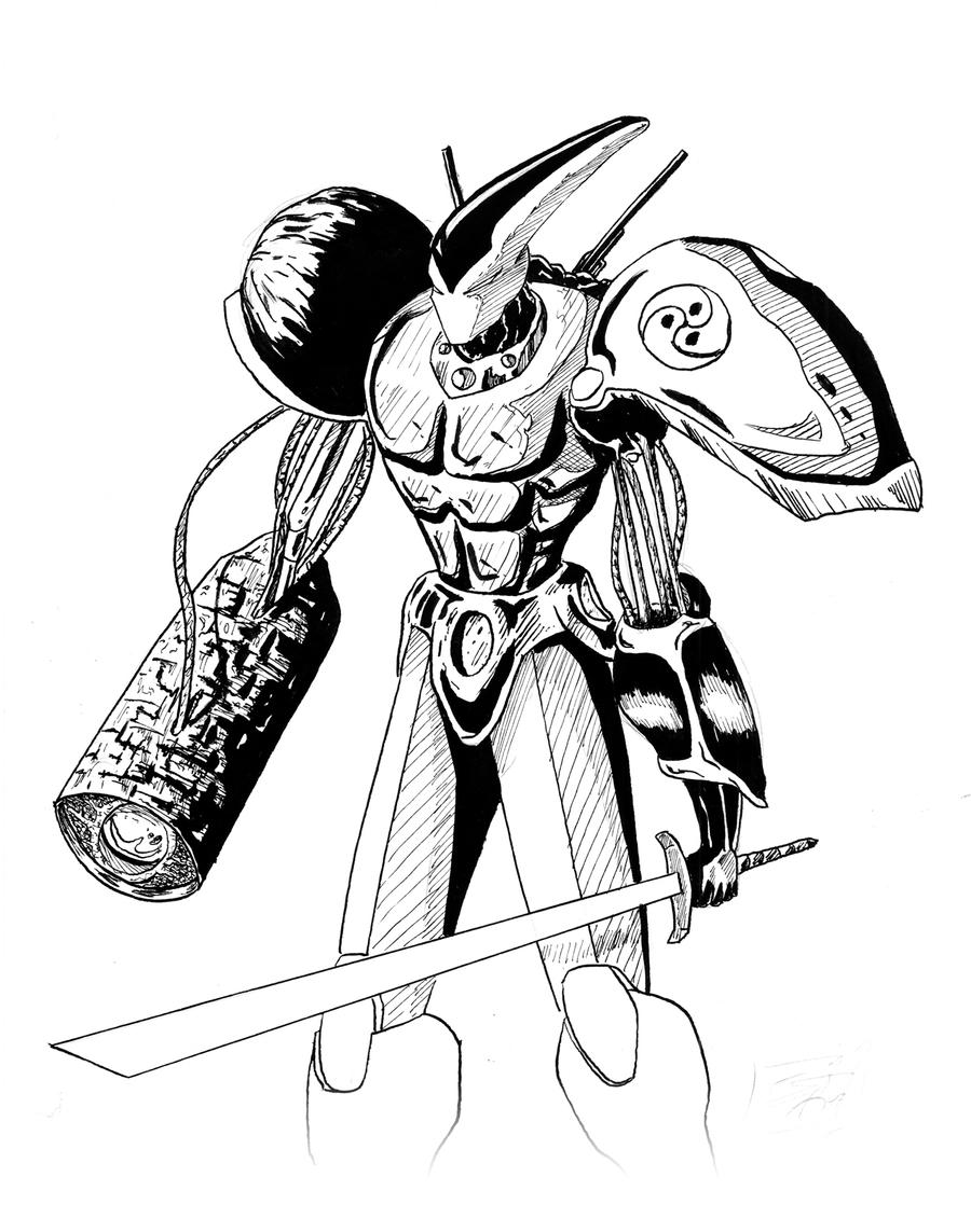 mazinger z coloring pages - photo#34