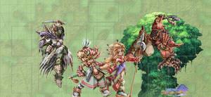 Seiken Densetsu: Legend of Mana Playmat