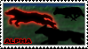 Wolf-Alpha stamp by NiaWolf