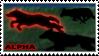 Wolf-Alpha stamp by NiaWolf