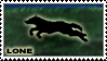 Wolf-Lone stamp by NiaWolf