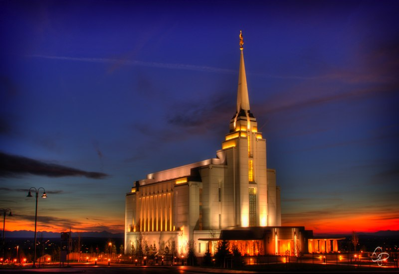 Rexburg Idaho Temple Rexburg Idaho Temple Hdr 2 by Packardphotography