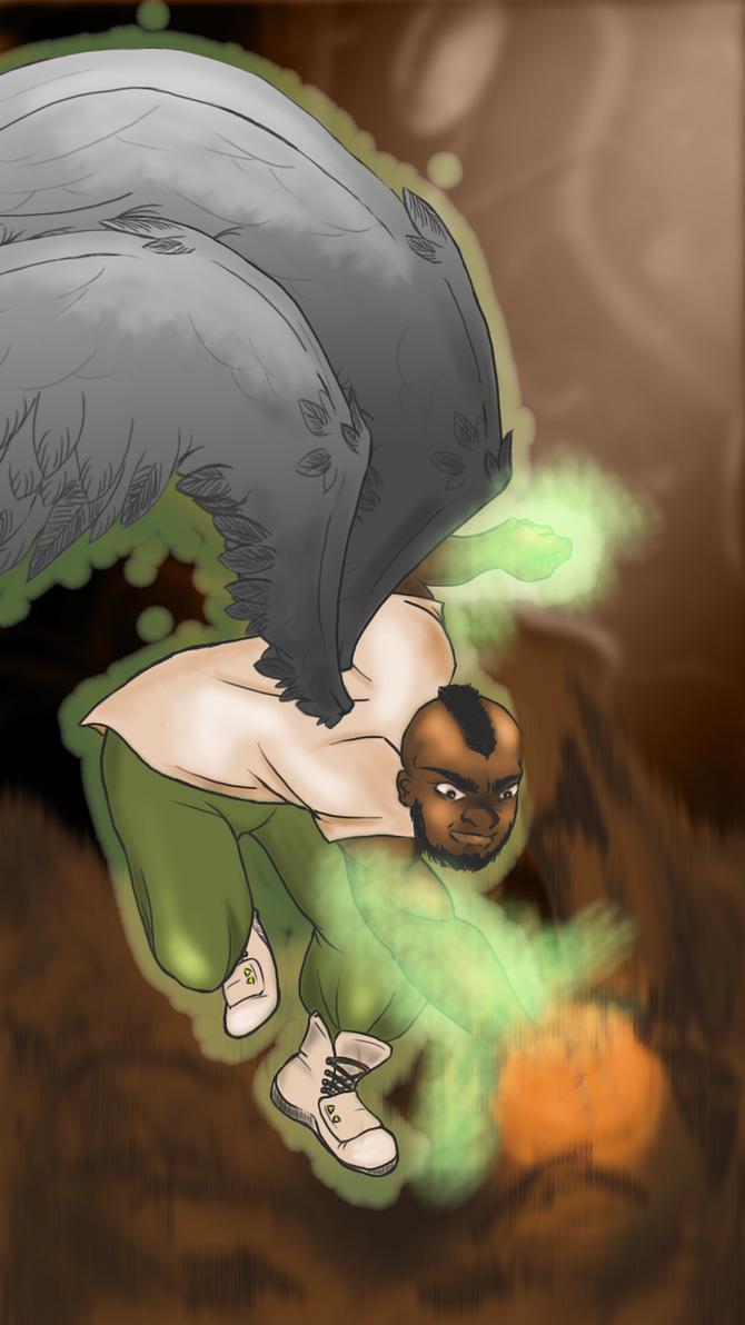 Va'Neem - Angel form by MakiMoonstone2706