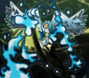 Alexandra - Angel Form by MakiMoonstone2706