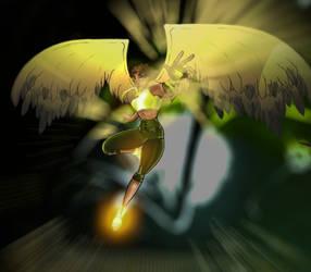 Shevarri - Angel form by MakiMoonstone2706