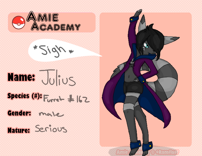 Julius app for Amie Academy by skitzafrantic08