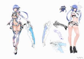 [design] Gijinka : Intel