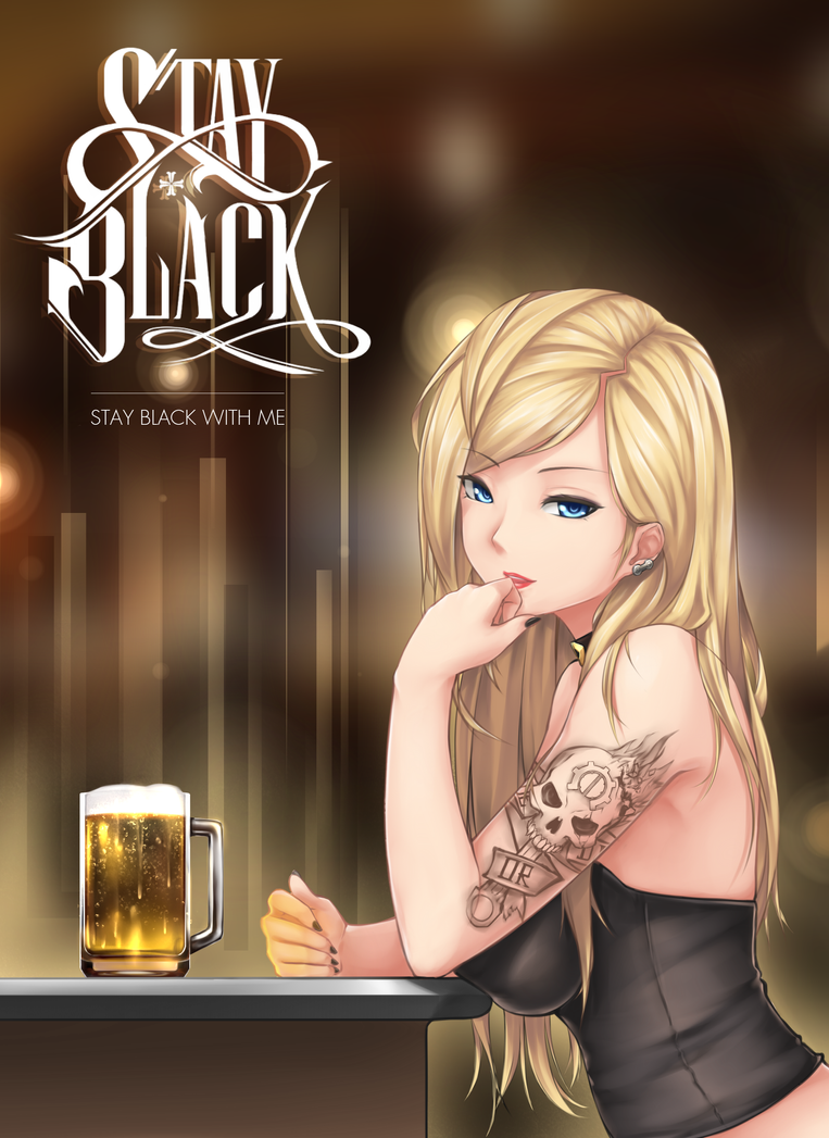 STAY BLACK by HiroHatakeyama