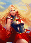 Supergirl by Anmat