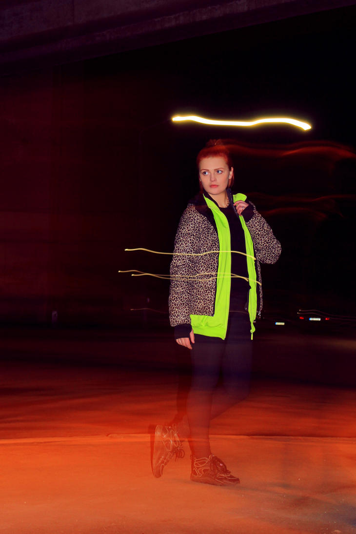 behind city lights 1 by Austruma