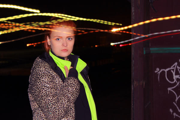 behind city lights 3 by Austruma