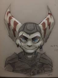 Dante doodle 12/16/18 by Sevster-san98