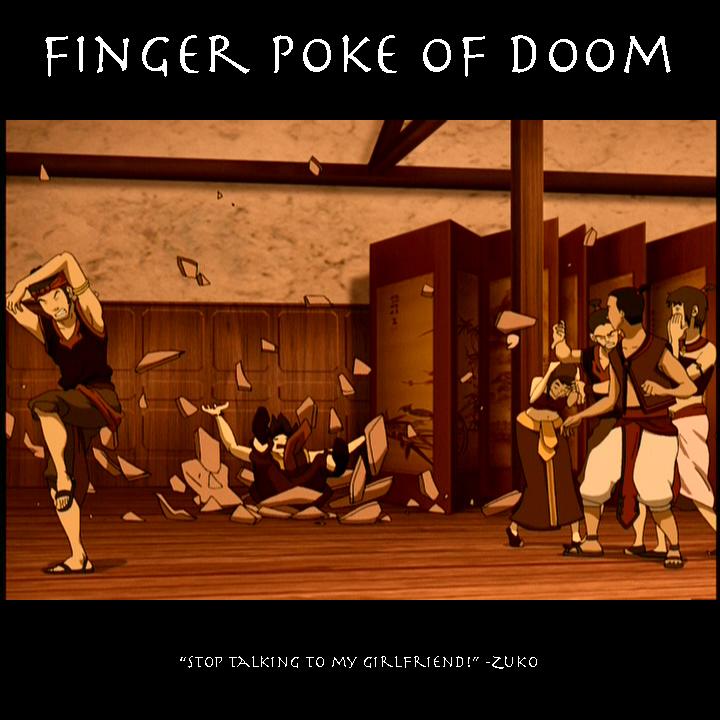 finger poke of doom tv tropes finger poke of doom tv