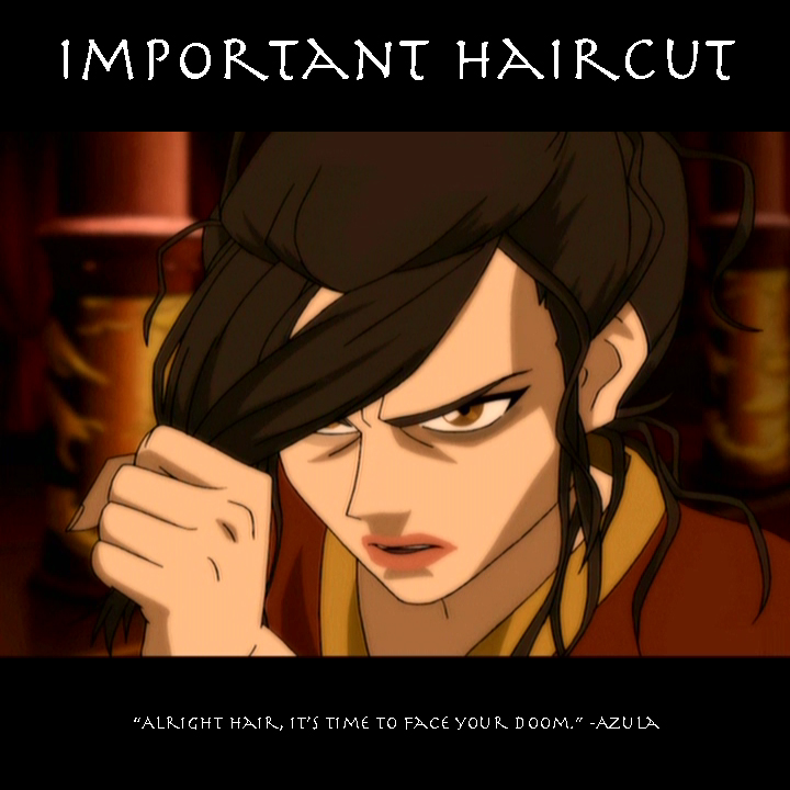 Important Haircut by SaucePear on DeviantArt