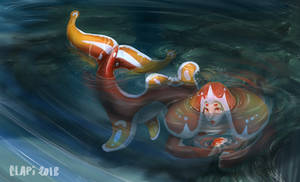 Shy Little Mermaid