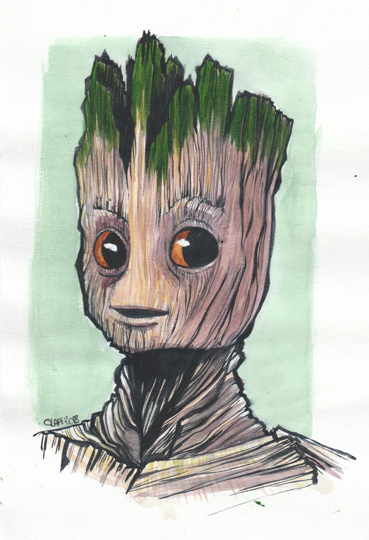Ici Clapi !   Groot_by_clapiart-dco5r3a
